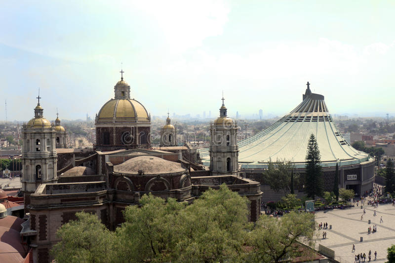 Basilica de Guadalupe immagini stock libere da diritti