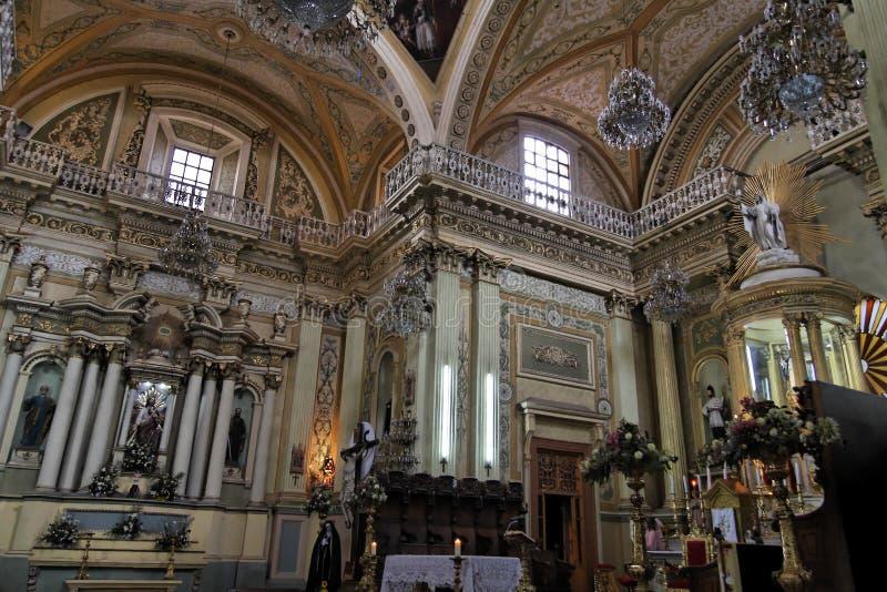 Basilica de Guanajuato lizenzfreies stockbild