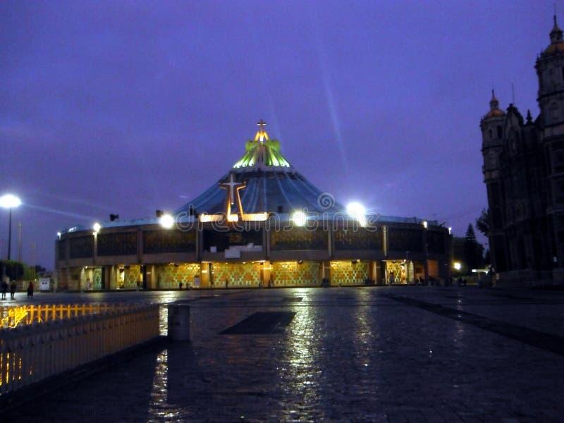 Basilica de la Virgen de瓜达卢佩河 图库摄影