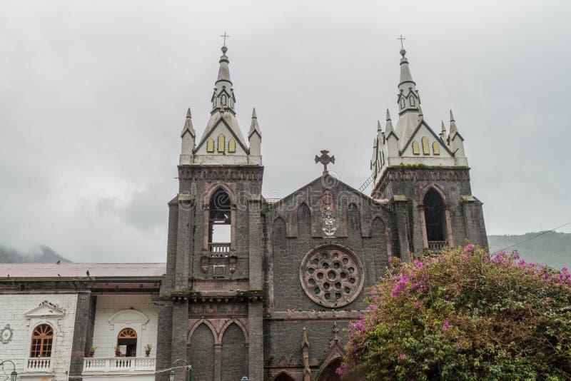 Basilica DE Nuestra Senora de Agua Santa stock foto's