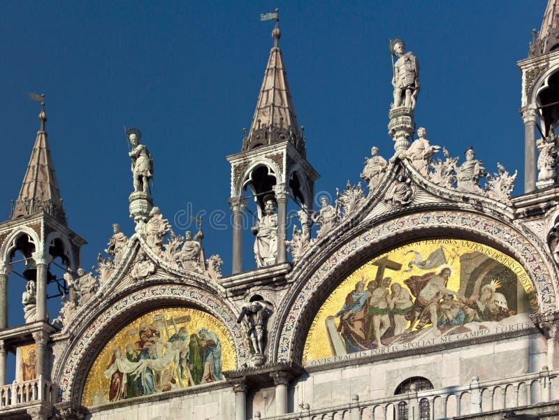 Basilica de San Marco in Venice - Italy royalty free stock photo