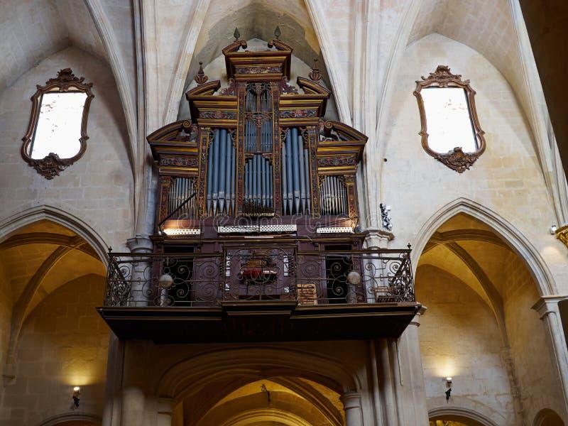 Inside Of The Basilica Of Santa Maria In Alicante Editorial Image