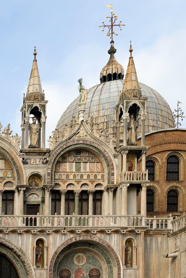 Basilica del contrassegno della st, Venezia, Italia immagine stock