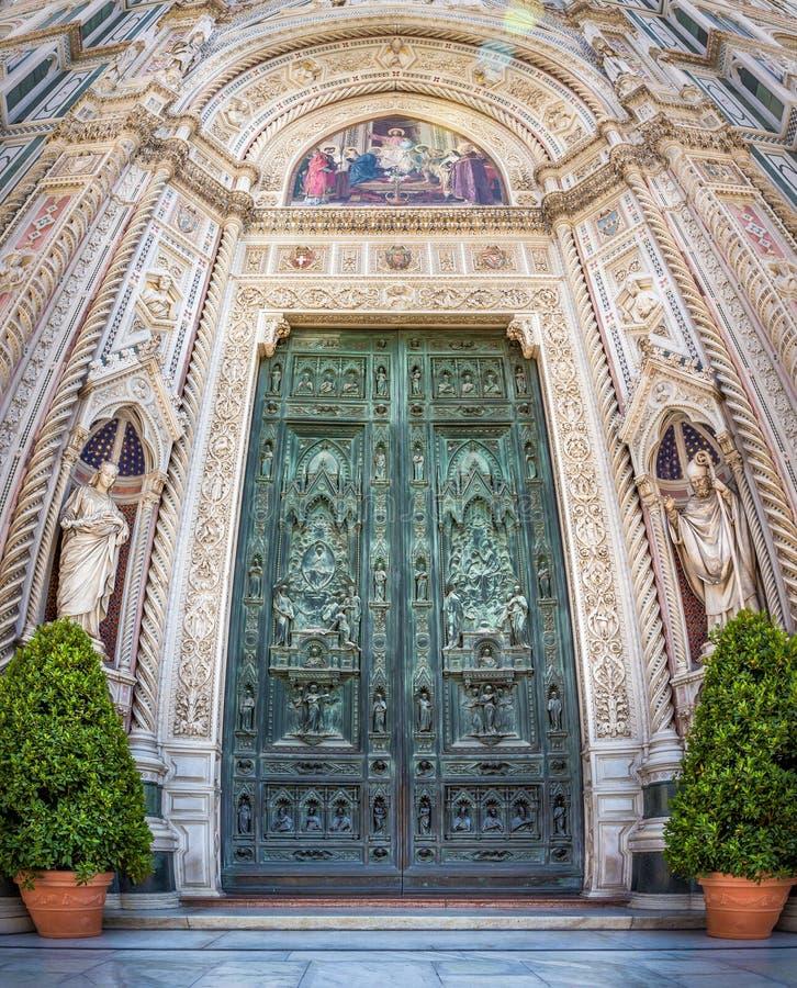 basilica del di fiore佛罗伦萨玛丽亚・圣诞老人 图库摄影