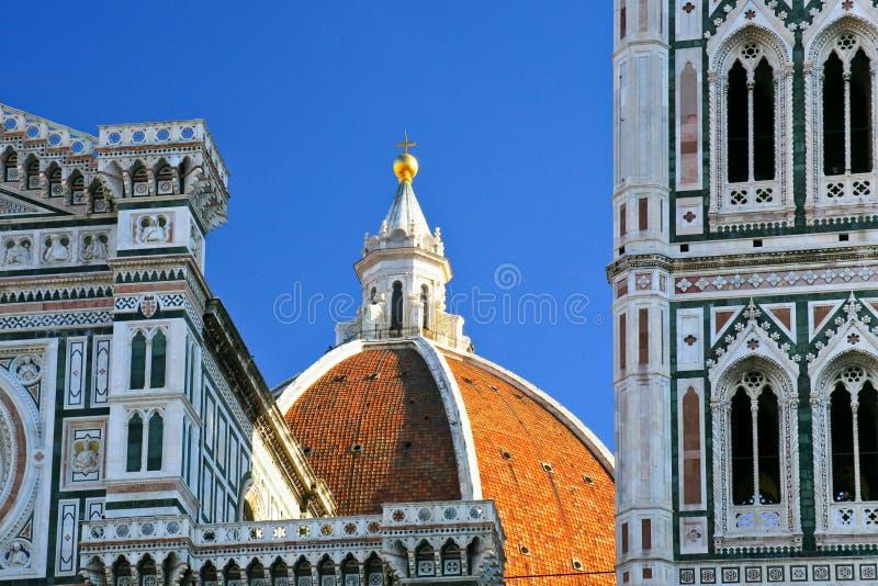 basilica del Di santa της Μαρίας θόλων fiore στοκ εικόνα με δικαίωμα ελεύθερης χρήσης