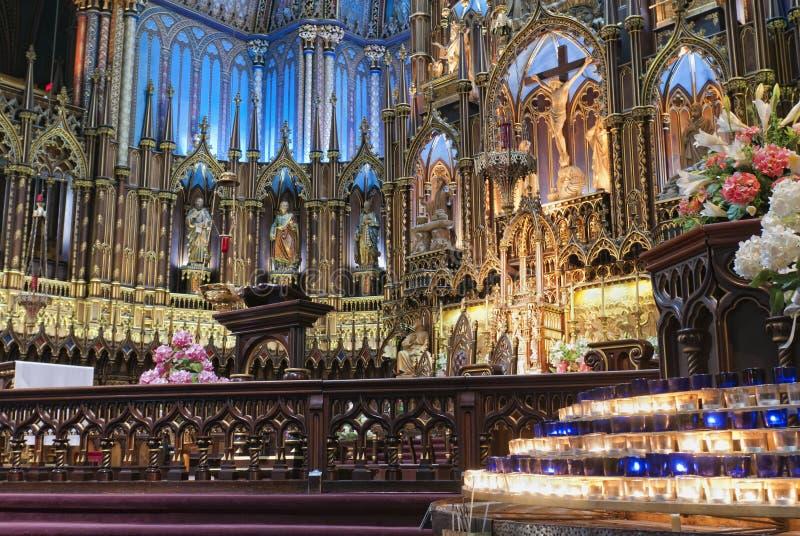 Basilica del Notre Dame immagine stock libera da diritti