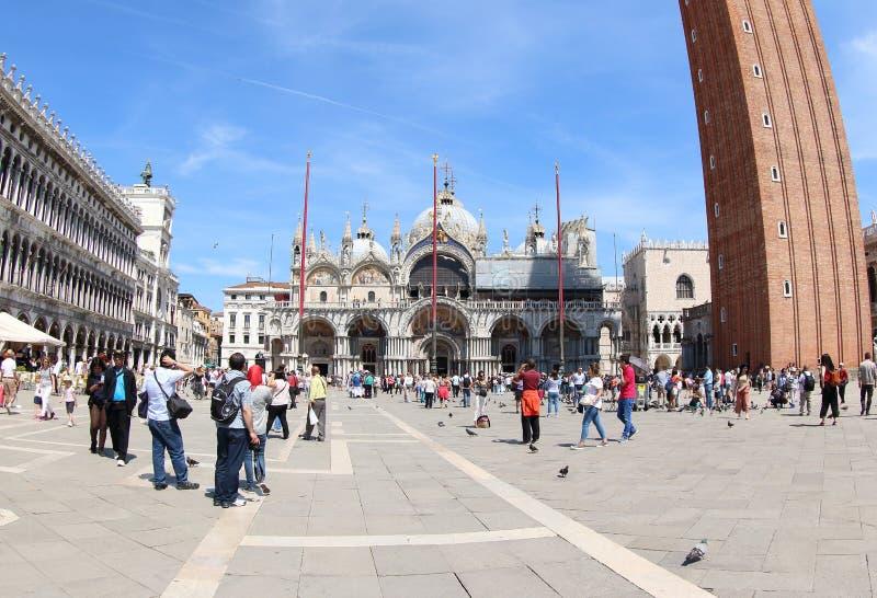 Basilica del ` s di St Mark, Venezia immagine stock libera da diritti