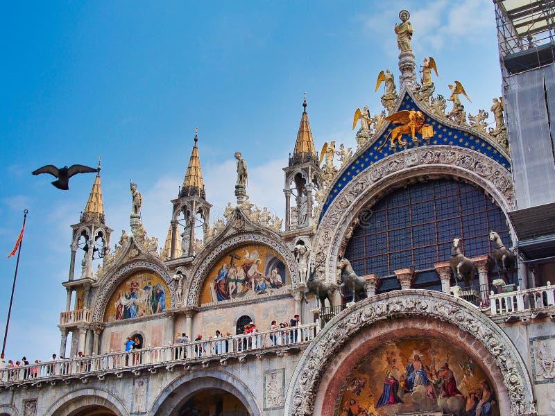 Basilica del ` s di St Mark, Venezia, Italia fotografia stock