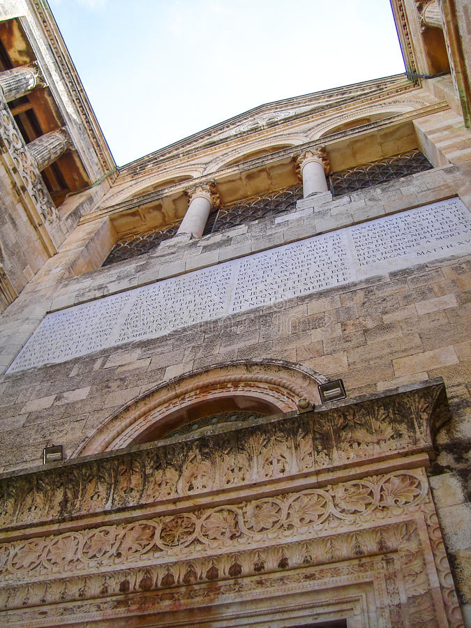 Download Basilica Del Transfiguration Fotografia Stock - Immagine di christianity, struttura: 55355412