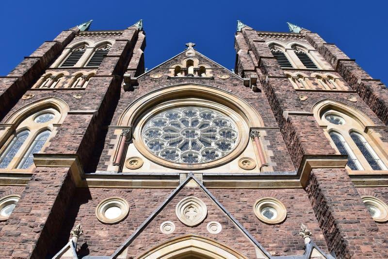 Basilica della cattedrale di St Peter a Londra, Ontario Canada immagine stock