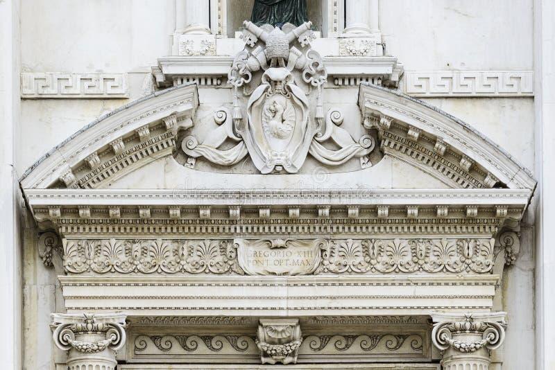 Basilica della Santa Casa stock image