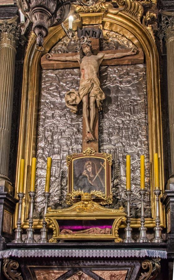 Basilica della st Mary Krakow immagini stock libere da diritti