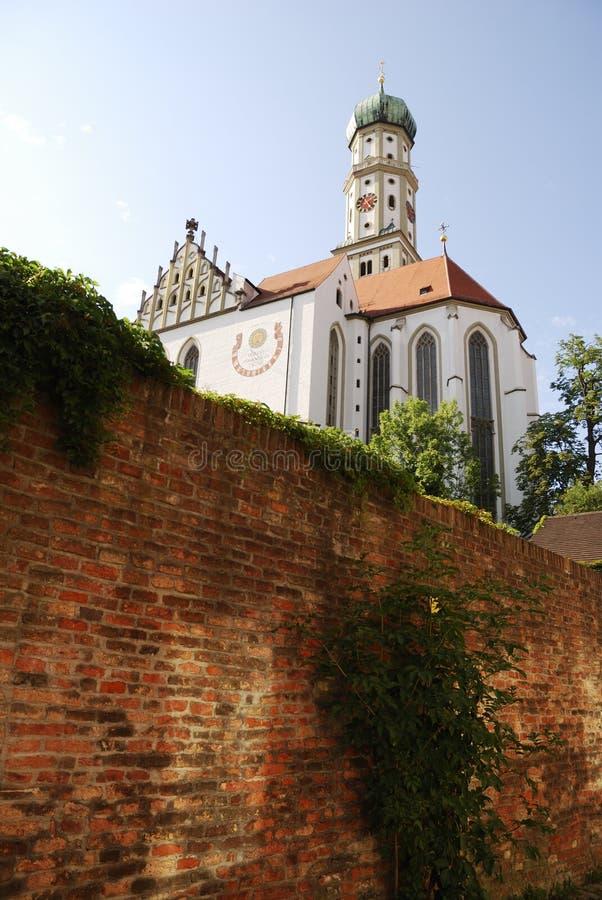 Basilica della st Ulrich immagine stock libera da diritti