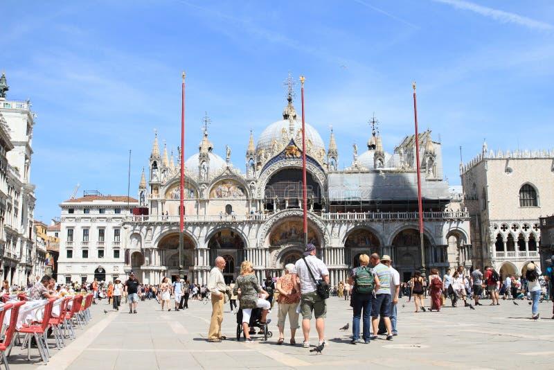 basilica di圣Marco 免版税库存图片
