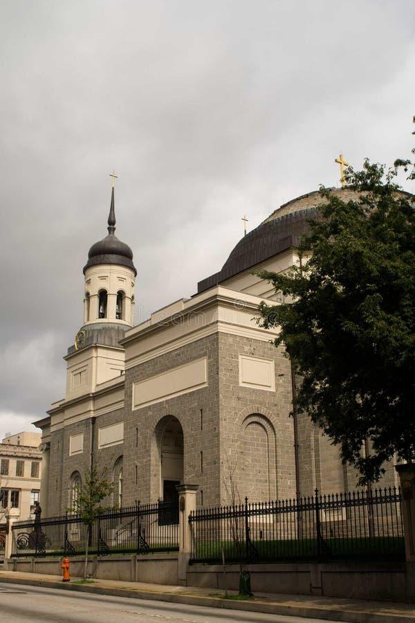 Basilica di Baltimora a Baltimora, Maryland immagine stock libera da diritti
