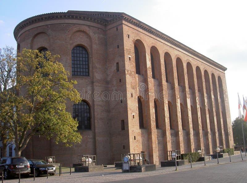 Basilica di Costantina fotografie stock