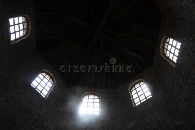 Basilica di Euphrasian in Porec, Croazia immagini stock libere da diritti