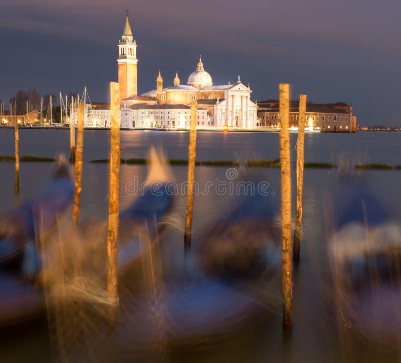 basilica di giorgio ・意大利maggiore圣・威尼斯 免版税图库摄影