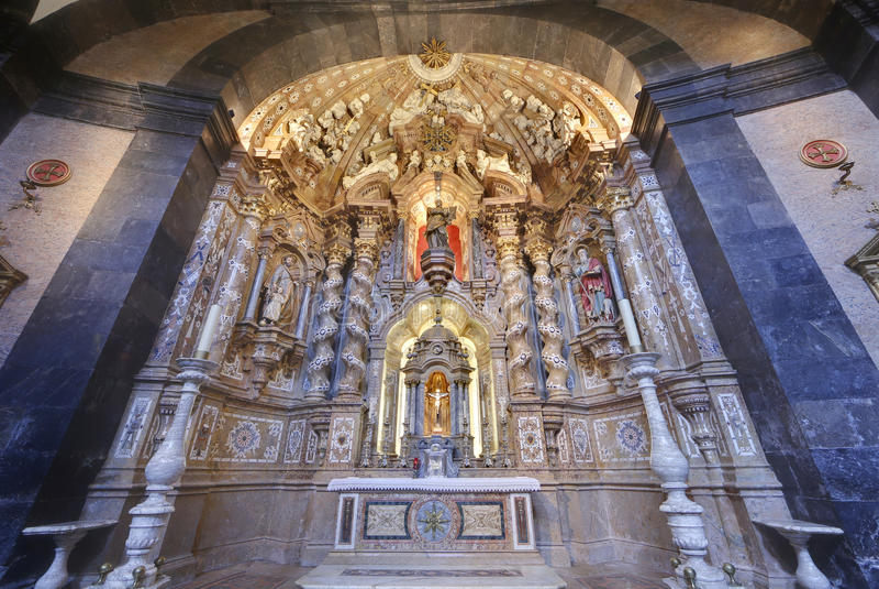 Basilica di Loiola a Azpeitia (Spagna) fotografie stock