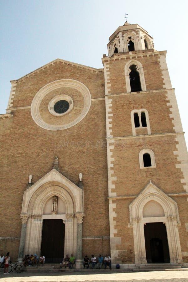 Basilica di Lucera fotografia stock