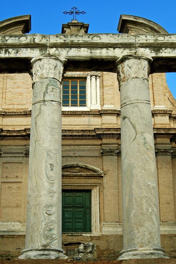 basilica di massenzio 免版税库存照片