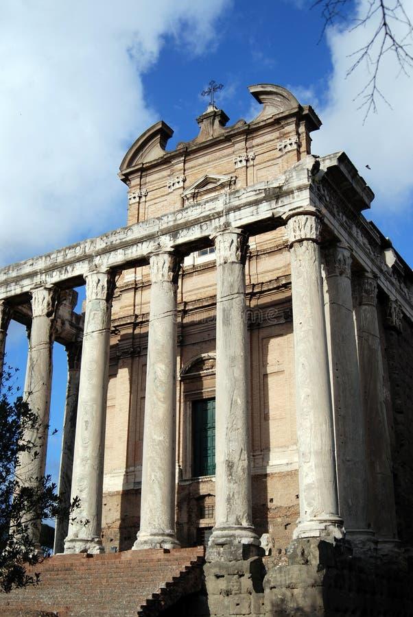 Basilica di Massenzio fotografia stock libera da diritti