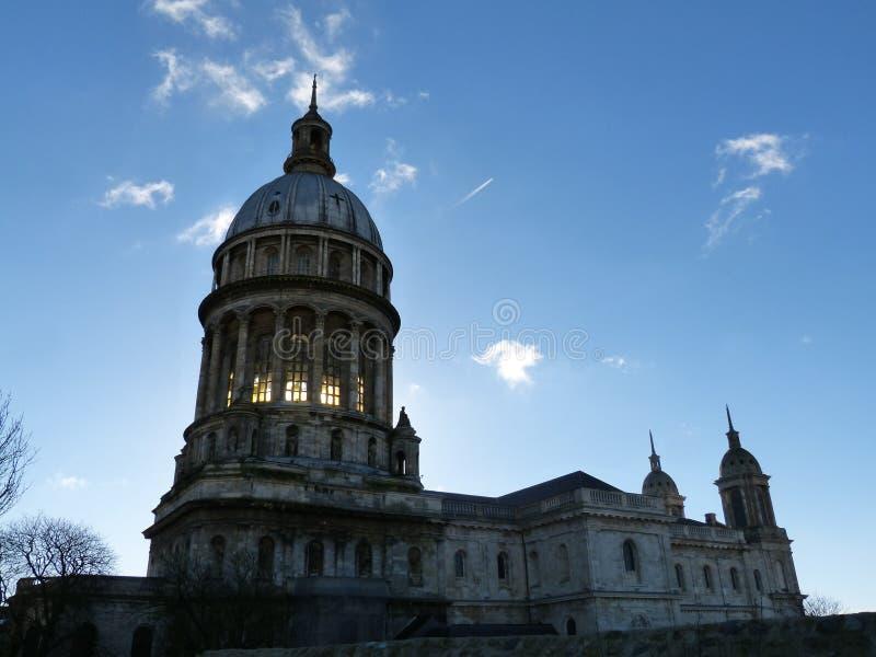 Basilica di Notre-Dame de Boulogne immagine stock libera da diritti