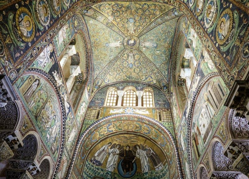 Basilica di Ravenna Emilia Romagna Italia Europa della st vitale fotografia stock libera da diritti
