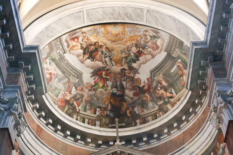 Basilica di Roma immagini stock