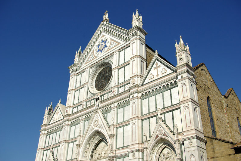 Basilica di S. Croce, Florence royalty free stock images