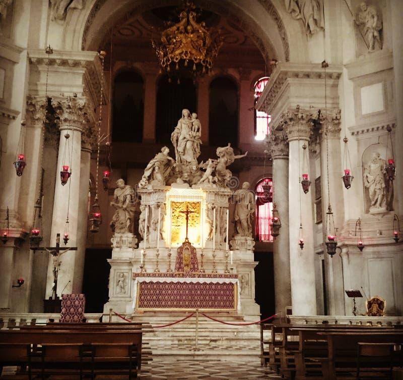 Basilica di saluto del di Santa Maria fotografia stock libera da diritti