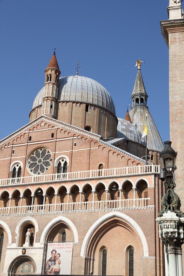 Basilica di San Antonio di Padua, Padoue, Vénétie, Italie image libre de droits