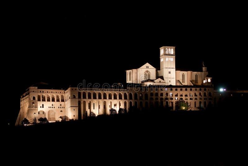 Basilica di San Francesco - Assisi fotografia stock libera da diritti
