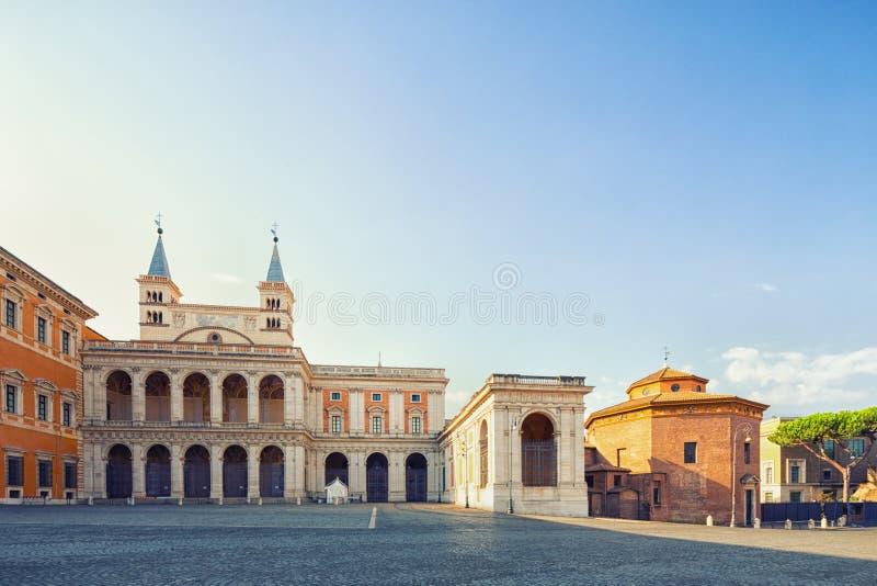 Basilica di San Giovanni in Laterano, Rom, Italien stockfoto