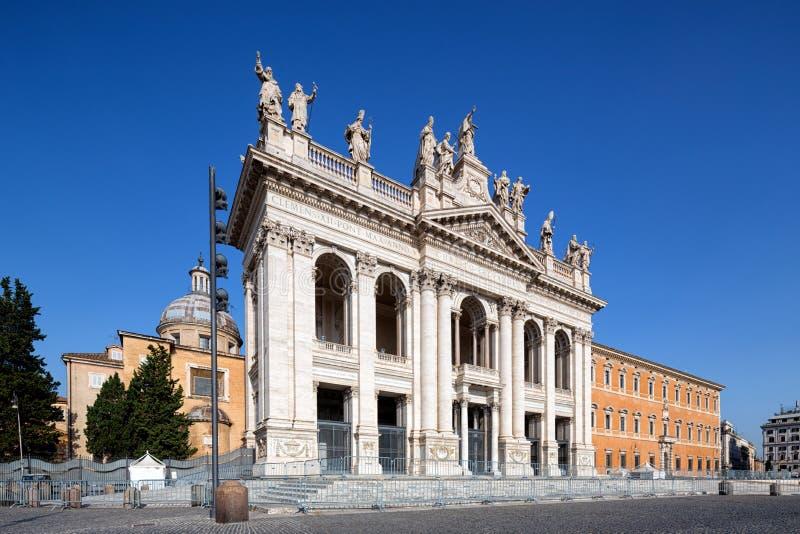 Basilica di San Giovanni in Laterano, Rom, Italien lizenzfreie stockfotografie