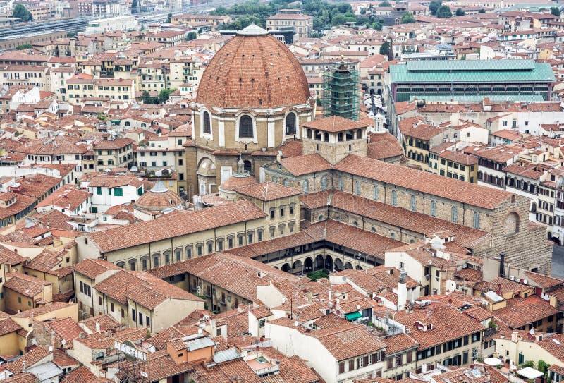 Basilica di San Lorenzo, Firenze, Italia, eredità culturale fotografia stock
