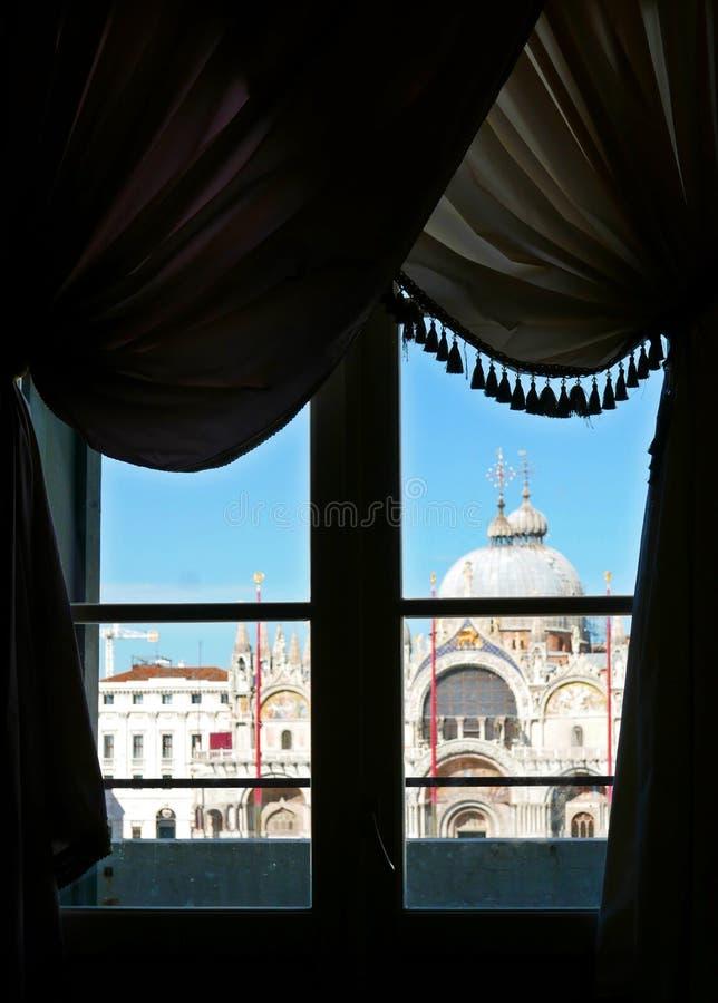 Basilica di San Marco arkivbilder