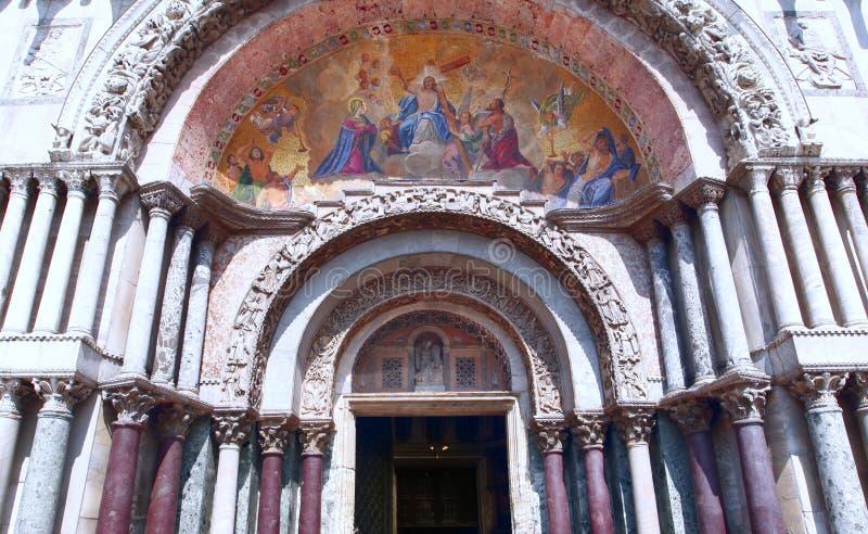 Basilica di San Marco fotografie stock