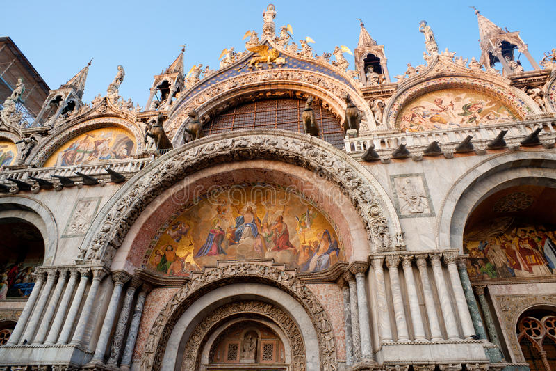 Basilica Di San Marco. Venetië. stock afbeelding