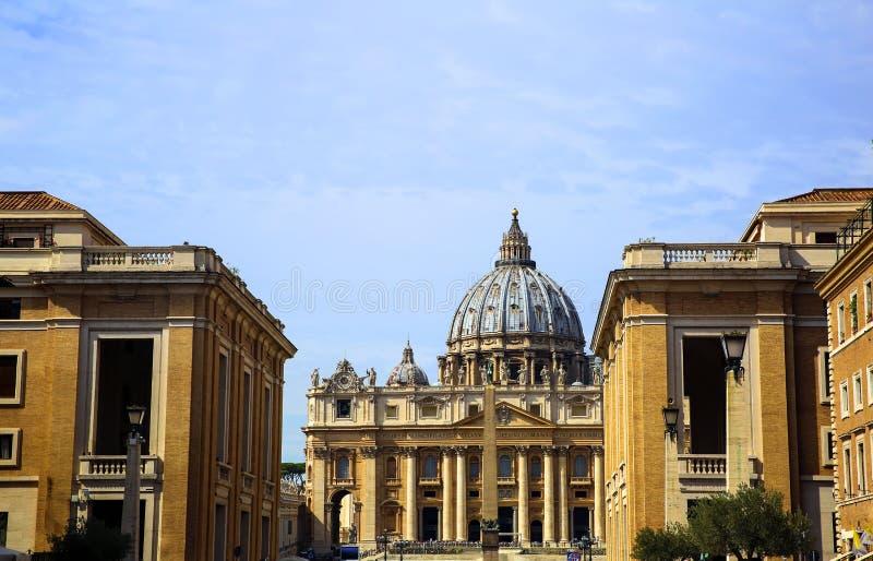 Basilica di San Pietro, Vatican, Roma, Italia immagini stock