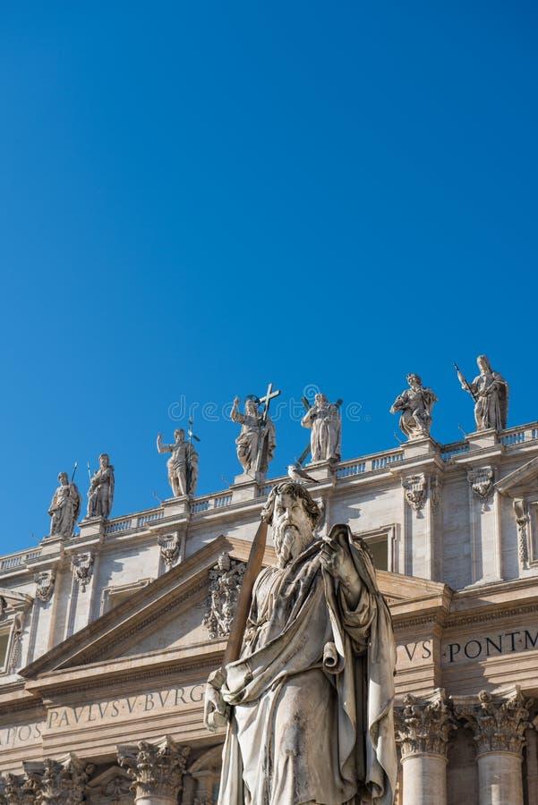 Basilica Di San Pietro in Vaticano royalty-vrije stock foto's