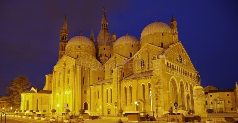Basilica di Sant'Antonio da Padova fotografia stock libera da diritti