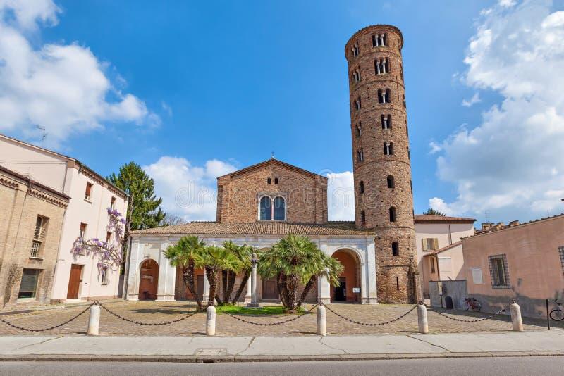Basilica Di Sant Apollinare Nuovo, Ravenna royalty-vrije stock foto