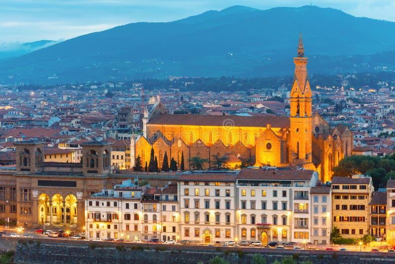 Basilica Di Santa Croce στη Φλωρεντία, Ιταλία στοκ εικόνες