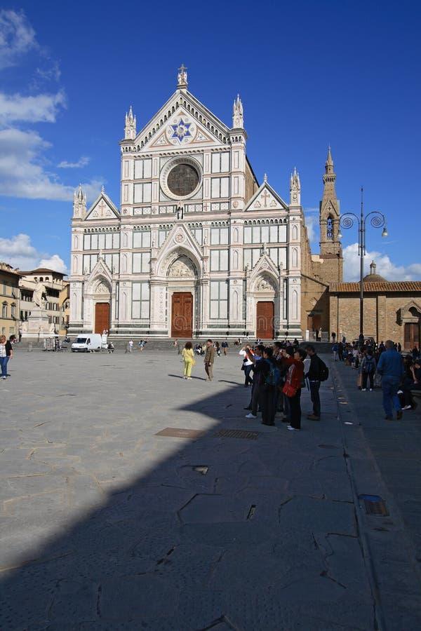 Basilica di Santa Croce royalty free stock photography