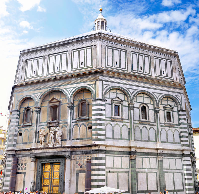 The Basilica di Santa Croce Florence, Italy stock photos