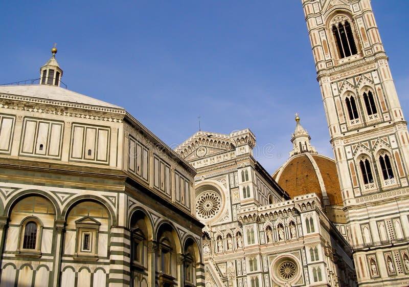 Basilica di Santa Maria del Fiori Florence, Italy royalty free stock images