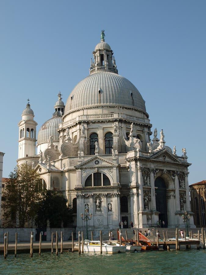 Basilica Di Santa Maria Della Salute Venice Ita Stock