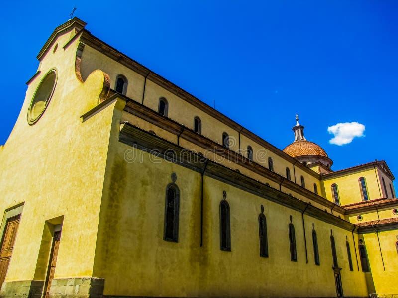 Basilica Di Santo Spirito ιερό πνεύμα, Φλωρεντία, Ιταλία στοκ φωτογραφία με δικαίωμα ελεύθερης χρήσης