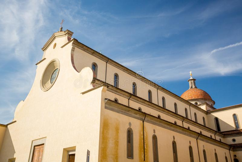 Basilica Di Santo Spirito, Φλωρεντία, Ιταλία στοκ εικόνες